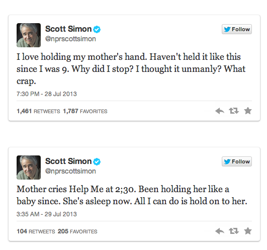 Scott Simon Tweets