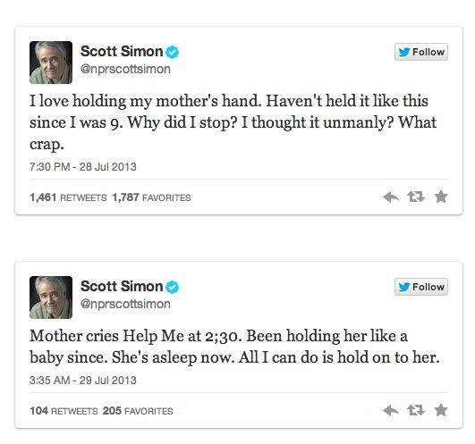 Scott Simon Tweets